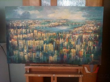 Prodám krásné abstrakce měst!!!