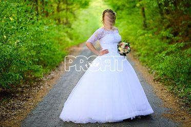 Prodám svatební šaty po obřadu a focení