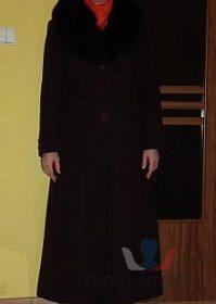Dámský flaušový kabát