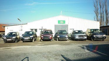 Land Rover - náhradní díly