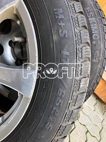 Litá kola R15 včetně zimních pneu