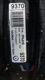 Disky na Fiat Peugeot R15
