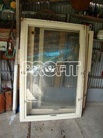Okna výklopná dřevěná