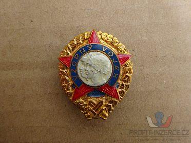 3ks odznak VZORNÝ VOJÁK