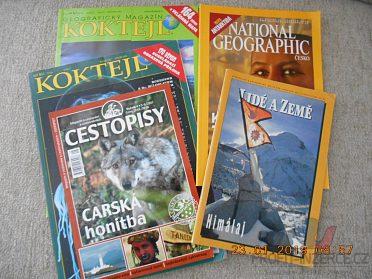 Prodám časopisy National geographic
