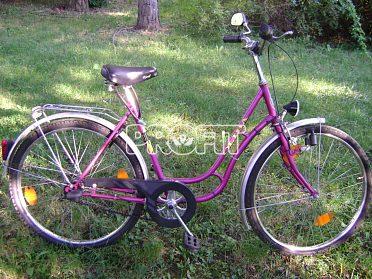 Pěkné dámské kolo