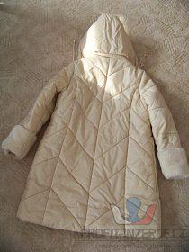 Delší zimní bunda, kabát + doplňky