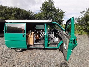 Obytný transportér VW
