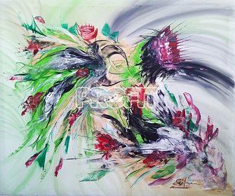Obraz-Divoké květy