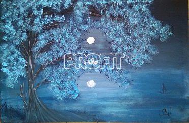 Obraz-Za svitu měsíce