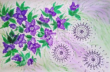 Obraz-Energie květin