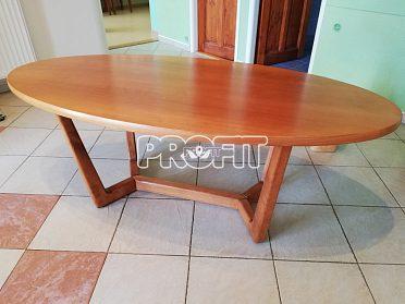 konferenční stolek masiv, dýha