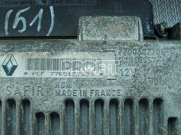 řídící jednotka Renault Clio 7700107694
