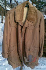 Prodám 3/4 pánský zimní béžový kabát