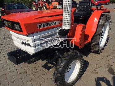Kubota 1600 DT, 16 Hp, 4x4