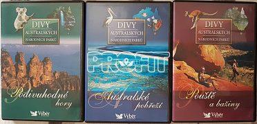 DVD - DIVY AUSTRALSKÝCH NÁRODNÍCH PARKŮ