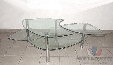 NOVÝ, luxusní  konferenční stolek.