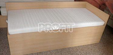 Postel s roštem + zdravotní matrací