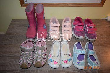 Dětské boty,bačkůrky a gumáky