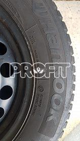 Zimní pneu na disku Š Octavia II a III
