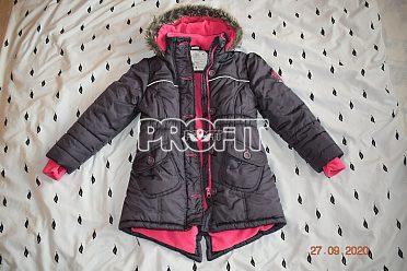 Dětská zimní bunda 116