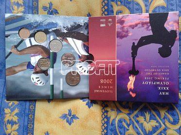 sada mincí SR 2008-Olympijské hry Peking