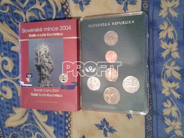 sada mincí SR 2004- Zlaté město Kremnica