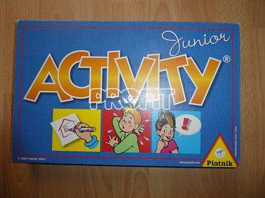 Dětská desková hra Aktivity junior