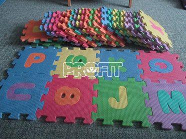 dětské pěnové puzzle