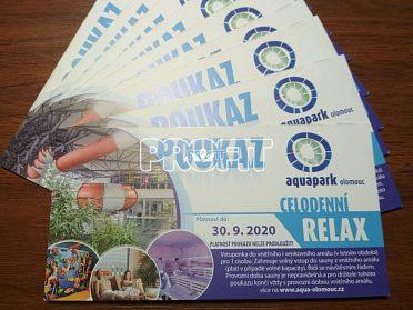 Celodenní vstup do Aquaparku Olomouc
