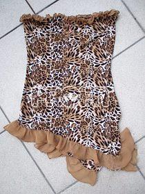 leopardí košilka a tanga