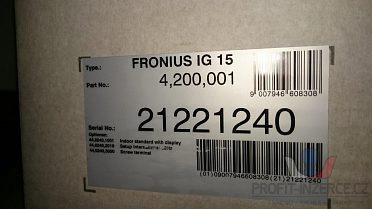 MĚNIČ PRO FVE- FRONIUS IG 15-možná sleva