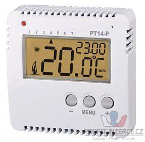 Termostat PT14-P programovatelný prostor