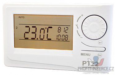 Termostat PT 22 display a kolečko