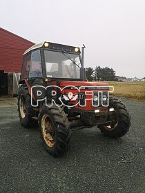 Traktor Zetor 6245 - perfektní stav