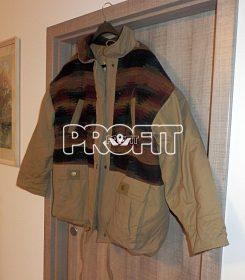 Zimní péřová bunda velká
