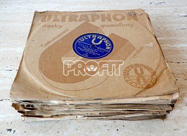 ULTRAPHON - staré šelakové gramodesky