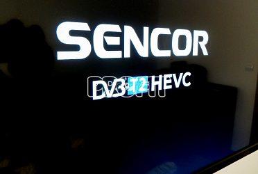 Televizor SENCOR pro nový systém DVBT2