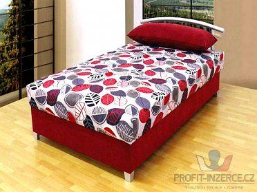 Zánovní, moderní , pevná postel.