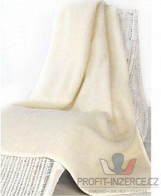 Teplá vlněná deka