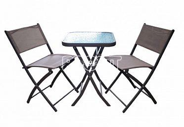 Set nábytku pro posezení na balkon
