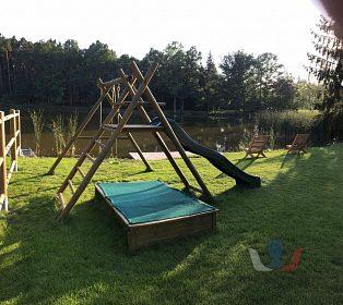 Pronájem chaty se saunou u rybníka