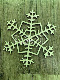 Vánoční dekorace (dřevo)