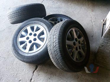 "ALU 5x114,3 r15"" - originál Chrysler"