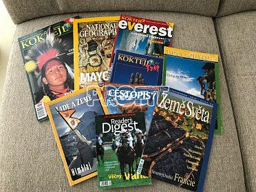 Prodám cestopisné časopisy