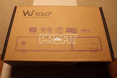 Satelitní přijímač Vu+ SOLO 2 černý