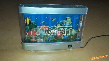 Lampička akvárium