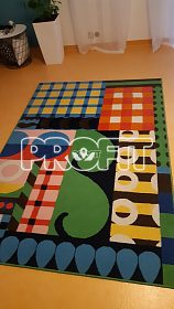 Pěkný koberec do dětského pokoje