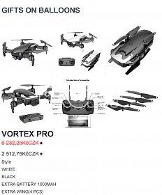 Prodám dron VORTEX PRO s kamerou