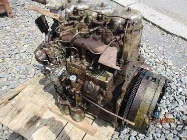 Zetor motor 6201 nastrojený do traktoru